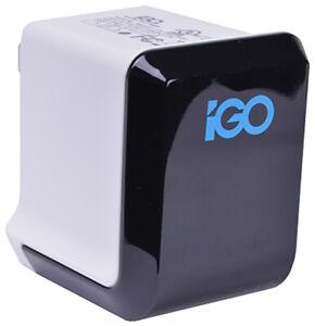 iGo MicroJuice Dual-USB 2.1A Universal Wall Charger