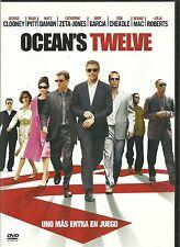 DVD-Ocean,s Twelve.George Clooney,Brad Pitt,Matt Damon,Catherine Zeta-Jones.