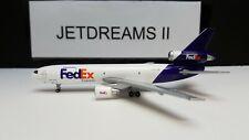 1/400 FEDEX FEDERAL EXPRESS MD-10-10F 1994'S COLORS N386FE GEMINI JETS