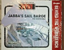 Exclusive Jabba's Sail Barge The Khetanna Behind the Workbench Booklet Hasbro VC