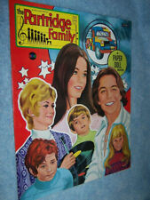 1972 Artcraft- The Partridge Family Paper Doll Book #5143