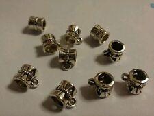 12 x Tibetan Style Rangers/Bail Beads