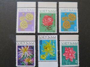 N. Vietnam 1974 - Flowers for TET Holidays - VF, MNH