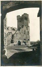 Carte PHoto à identifier Semble ruines d'un château