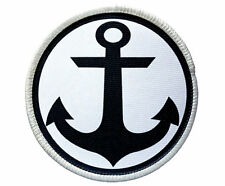 Patch - Anchor Patch - Heat Seal / Iron on Patch for jackets, shirts, tote bags,