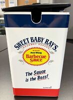 Server Express CE-PL Sweet Baby Ray's BBQ Sauce Pouched Condiment Pump Dispenser