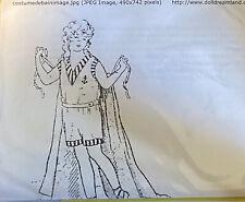 Pattern for Bleuette's Bathing Suit, 1921, Wool Jersey-Fabrics , Instructions