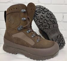 HAIX BROWN SUEDE DESERT HIGH LIABILITY COMBAT BOOTS - Size: 7 Wide British Army