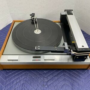 THORENS TD125 TURNTABLE WITH RABCO SL-8E TONEARM - SERVICED - CLEANED - TESTED