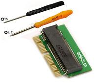 M2 M-Key SSD as 2013-2014-2015 MACBOOK SSD for Air A1465 A1466 Pro A1398 A1502