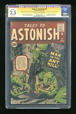 Tales to Astonish #27 CGC 3.5 Restored SS Stan Lee 0782051001 1st app. Ant-Man