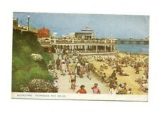 Sussex - Eastbourne, Promenade and Beach - Postcard Franked 1958