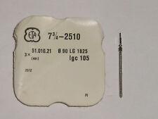 ETA winding stem 2510  2512 Extra Long thread / tige de remontoir / Aufzugswelle