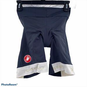 Castelli womens padded cycling shorts size small biking