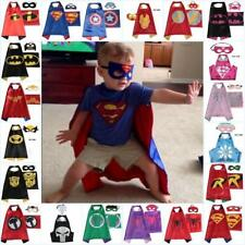 Super Héros Enfants cape masque costume superman batman ninja Spiderman