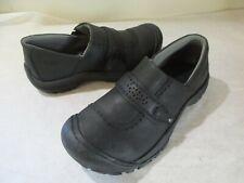 NEW Women's KEEN KACI Slip On Blak Leather Casual Shoes, Sz 11 M