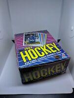 1987 Topps Hockey Wax Box 36 Pack Unopened Tight & Crisp Box Some Minor Wear