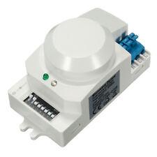 SK-600 AC 220V-240V 5.8GHz Microwave Radar Sensor Body Motion HF Detector Light