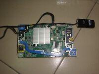 670026-001 - HP BL460c G8 P220i 6GB SAS Raid Controller  690164-B21+Battery