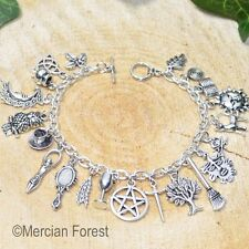 The Witches Charm Bracelet - Handmade Pagan Jewellery, Wicca, Witchcraft