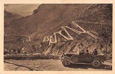 CPA 06 - Carretera Niza con Sospel - Los cordones de la solapa de Braus