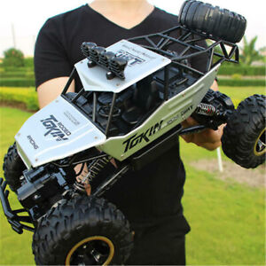 4WD RC Monster Truck Off-Road Vehicle 2.4G Remote Control Buggy Crawler Car A