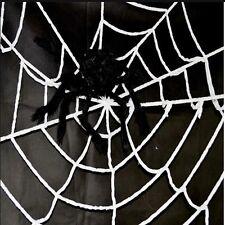 Gigante Halloween Terror Fiesta Black Spider Web Exterior
