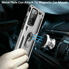 For Samsung Note20 Note 20 Ultra Case Hybrid Magnetic Shockproof Ring Back Cover