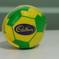 CADBURY SOCCEROOS GREEN AND GOLD PROMOTIONAL SQUISHY BALL