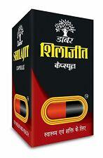 Dabur Shilajit 100 Caps For Vigour & Health Free Worldwide Shipping