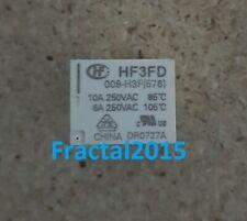 1Pcs HF3FD 009-H3F(576) 10A 250VAC