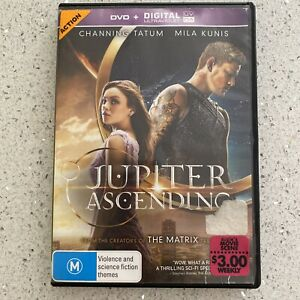 Jupiter Ascending (DVD, 2015) - SCI FI - Mila Kunis, Channing Tatum - FREE POST