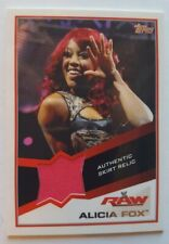 2013 TOPPS WWE RAW ALICIA FOX AUTHENTIC SMACKDOWN SKIRT RELIC