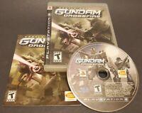 Mobile Suit Gundam: Crossfire (Sony PlayStation 3, 2006) CIB