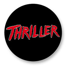"""Pin Button Badge Ø25mm 1"""" Michael Jackson MJ The king of pop Thriller"""
