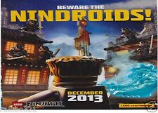 Lego Ninjago Beware the Nindroids Poster BRAND NEW & SEALED! RARE!