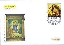 Germany 2012: Sistine Madonna 500 Years! POST FDC Self Adhesive No 2965! 1801