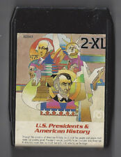 Mego 2-Xl Talking Robot 8 Track Tape U.S. Presidents And American History Tested
