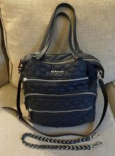 MZ WALLACE XL Quilted Crosby Tote in Black $265