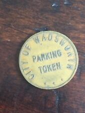 Vintage - City of Wadsworth Ohio - Parking Token - LOT OF 2