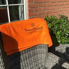 VEUVE CLIQUOT HAND OR  BATH TOWEL -GREAT IDEA FOR CHRISTMAS AND NEW YEAR