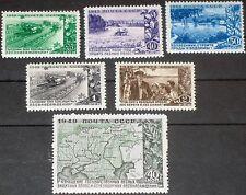 Russia union soviétique 1949 1385-90 1394-99 encouraging Agricultural Development MNH