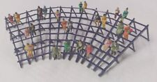 HO Seating Curved Bleachers Kit Circus Carnival Railroad Structures Display