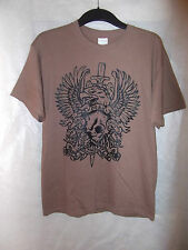 Hoax Mens Size Medium Brown Eagle T-Shirt - Brand New