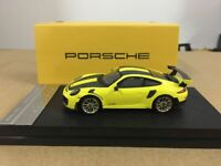 Porsche 911 GT2RS Yellow 1/64 Scale DieCast Model Car Limited Edition New in Box
