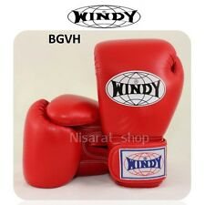 Windy Boxing Gloves For Kids Red 6 oz. Muay Thai Sparring Mma K1
