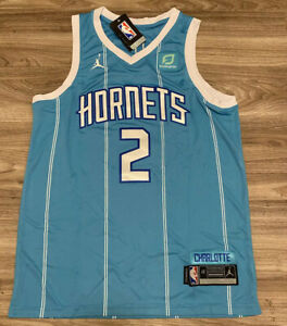 Charlotte Hornets Lamelo Ball Blue Jersey Medium New With Tags