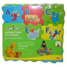 Sesame Street Alphabet Foam Floor Puzzle - New / Sealed