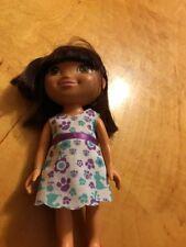 "2009 Mattel Dora the Explorer Doll  Hard Plastic Doll 9"" Toy T11"
