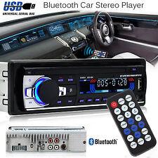 Bluetooth Coche Radio Estéreo reproductor de unidad de cabeza en el tablero de MP3/USB/SD/AUX-IN/FM IPod UK